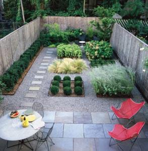 domino, garden plots
